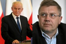 Minister energii Krzysztof Tchórzewski i szef ZPP, Cezary Kaźmierczak.