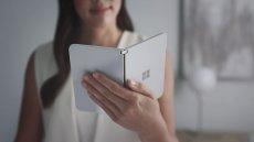 Surface Duo - prototypowy, składany smartfon Microsoftu na Androidzie, który dostał certyfikację Google Play.