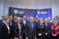 W uroczystości podpisania umowy z ESA uczestniczyły firmy i instytucje, które opracowały nowoczesne projekty z dziedziny informatyki, zaawansowanych technologii lotniczych, meteorologii, nawigacji czy aplikacji satelitarnych
