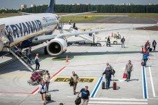 Dwa samoloty Ryanaira omal nie zderzyły się w powietrzu
