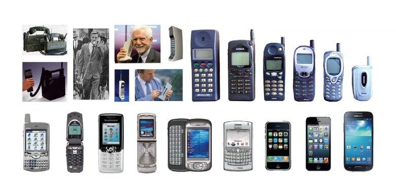 Ewolucja telefonu komórkowego