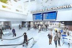 Tak ma wyglądać nowy Dworzec Zachodni w Warszawie.