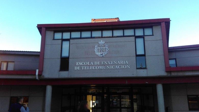 Uniwersytet Vigo, Wydział Telekomunikacji.