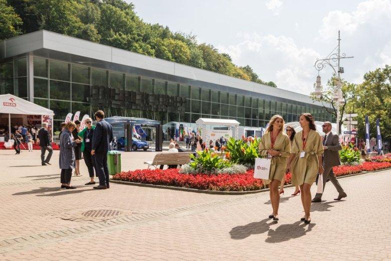 Forum Ekonomiczne w Krynicy-Zdroju to wyjątkowa okazja do promocji zarówno miasta, jak i produkowanych tu wód mineralnych.