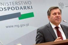 Janusz Piechociński, minister gospodarki.