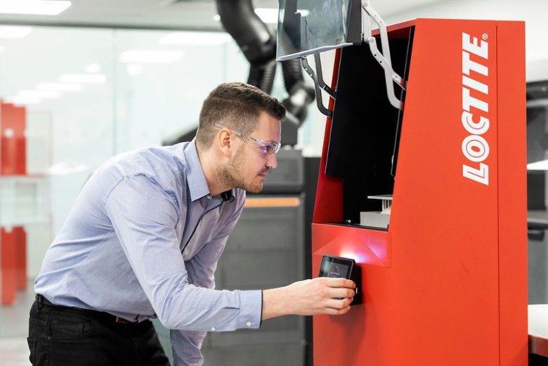 Produkty marki Loctite są używane do wydruków w technologii 3D