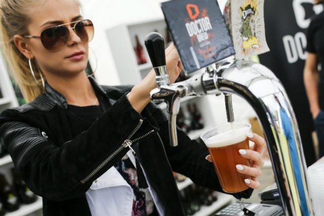 Festiwal Browarów Rzemieślniczych w Krakowie.