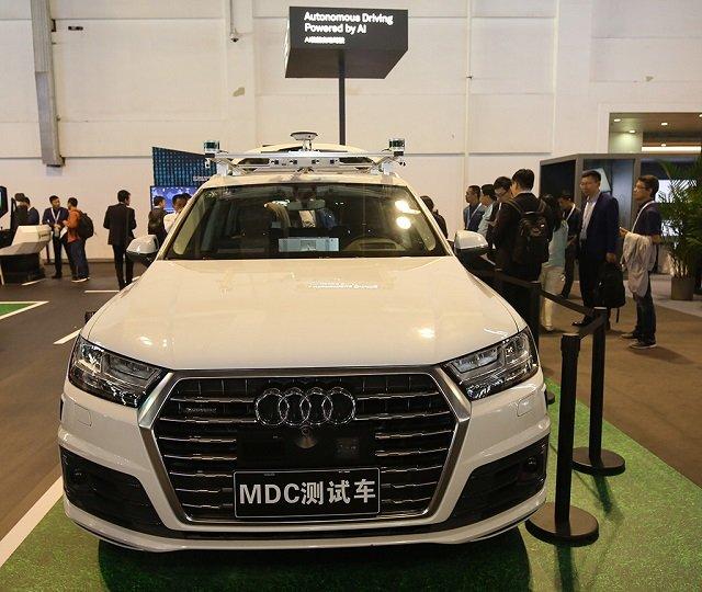 Huawei zawarł partnerstwo z Audi - firmy chcą stworzyć system autunomicznej jazdy poziomu 4.