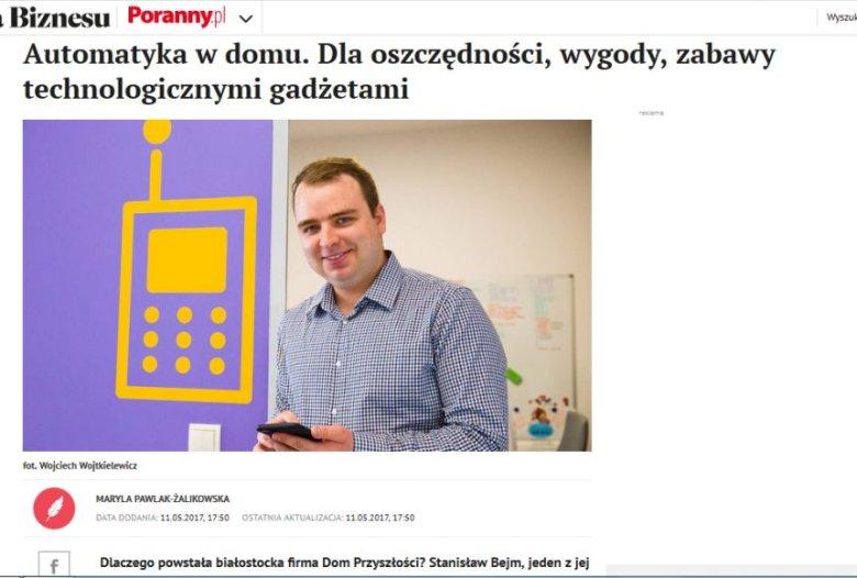 """O firmach Stanisława Bejma pisały też lokalne media. Ale """"siła rażenia"""" Wykopu jest nieporównywalna."""