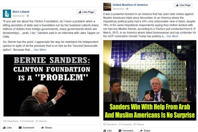 Nie ma znaczenia, czy Berniego Sandersa się popiera czy atakuje: grunt, żeby obudzić emocje i osłabić jego najważniejszą rywalkę.