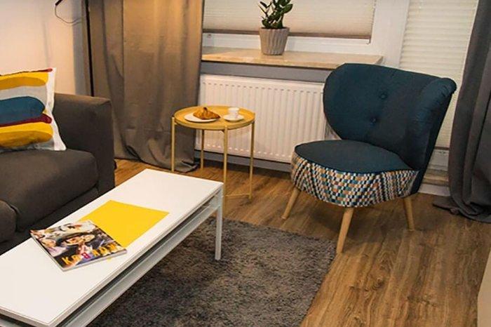 Pereca 11 znajdują się 193 mieszkania o powierzchni od 36 do 89 mkw., dostępne z pełnym umeblowaniem, jak i do umeblowania przez najemcę zgodnie z jego gustem.