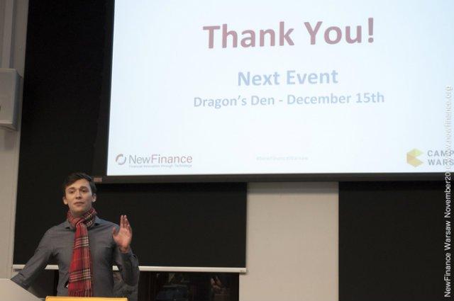 15 grudnia 2016 w Campus Warsaw (Ząbkowska 27/31, Praga-Północ) odbędzie się Dragon Den