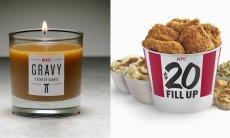 KFC przygotowało świecę zapachową o zapachu mięsnego sosu
