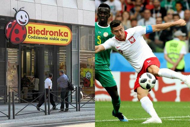 Biedronka płaci 5 zł za każdego gola, jakiego polska reprezentacja strzeli Kolumbii