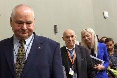 Glapiński nie chciał zdradzić wysokości zarobków Wojciechowskiej, więc do akcji wysłano CBA