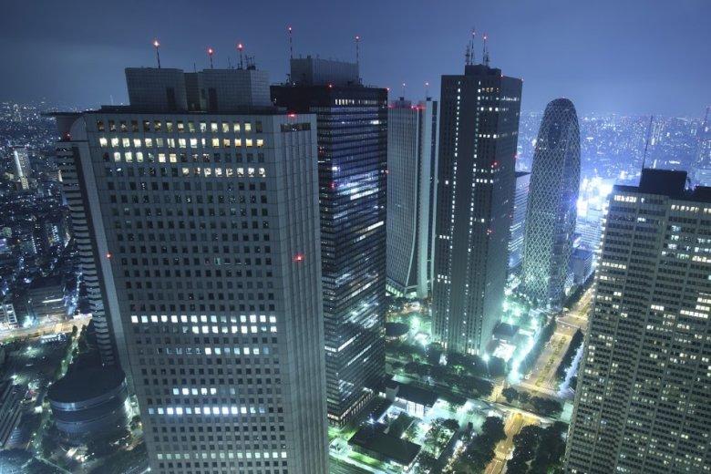 Korki to zmora wszystkich największych miast. Na zdjęciu - Tokyo