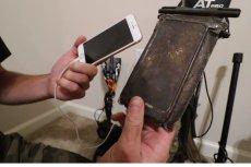 Wyłowionego iPhone'a przed zatopieniem uratował wyjątkowo wytrzymały wodoodporny pokrowiec.