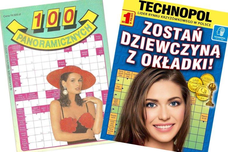 Od początku wydawncitwa Technopolu kusiły pięknymi kobietami na okładce. Tak zostało do dziś