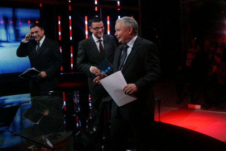 Były czasy... kiedy Jarosław Kaczyński bywał gościem na antenie TVN.