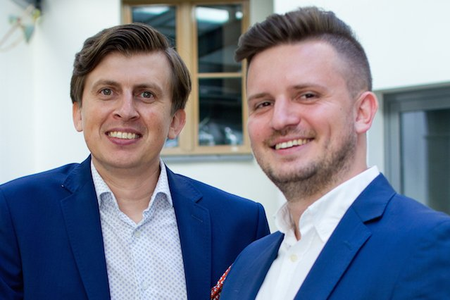 Dominik Karbowski i Aleksander Luchowski, twórcy Selectivv.