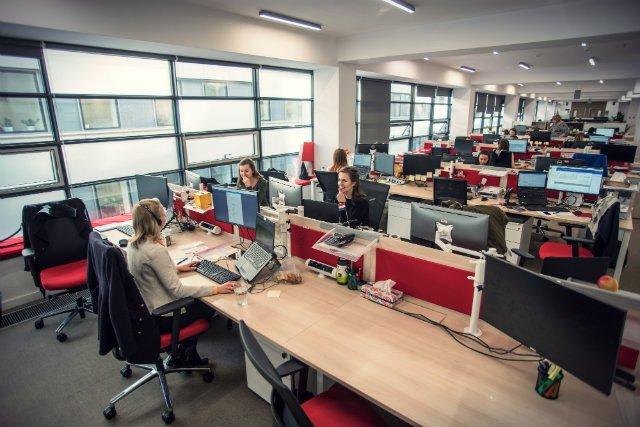 Biuro jednej z wrocławskich firm