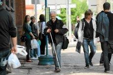 Laska Łukasza Kolmana ma szanse poprawić los osób niewidomych.