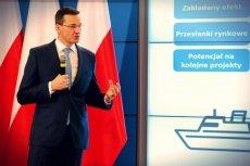 Mateusz Morawiecki podczas prezentacji planu odpowiedzialnego rozwoju