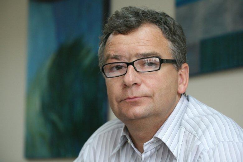 Marek Isański, szef Fundacji Praw Podatnika i niegdysiejszy właściciel firmy leasingowej z Zielonej Góry, zamkniętej w wyniku działań urzędników skarbowych.