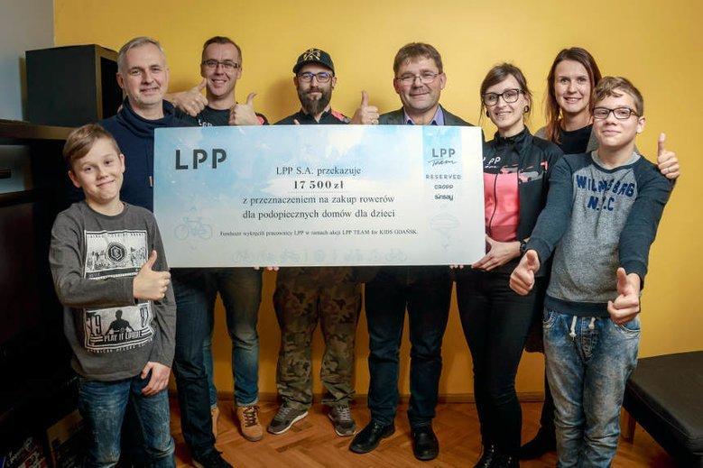 "Akcja ""LPP Team for kids"""