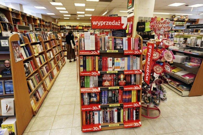 Księgarnia Empik w Kielcach.