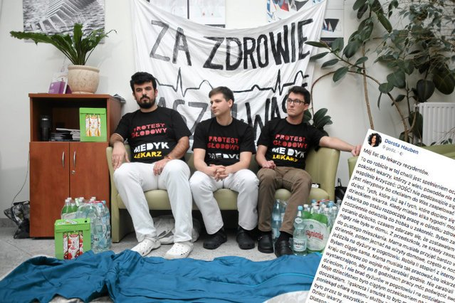 Coraz więcej środowisk medycznych popiera protest rezydentów.