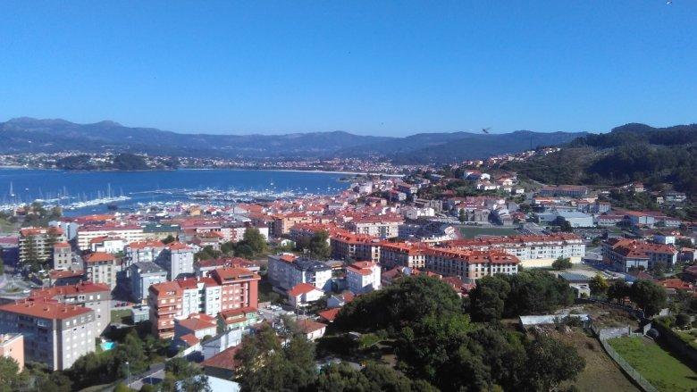 Miasto Vigo, Hiszpania.