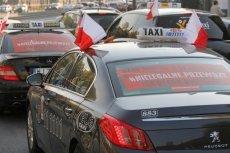 Taksówkarze są niezadowoleni z powodu projektu lex Uber, nad którym dziś będzie pracował Senat.