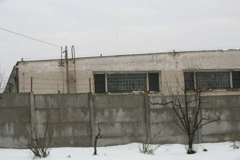 Magazyn rezerw strategicznych w Lublinie.