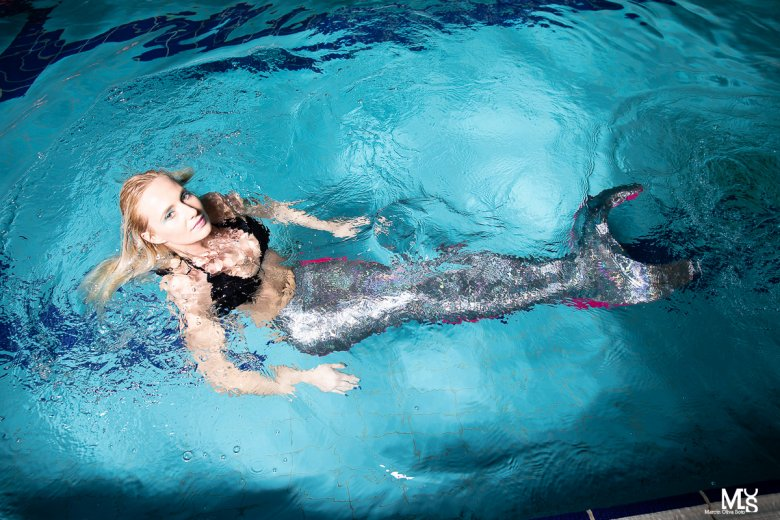 Pływanie w syrenim ogonie jest popularne we Włoszech i Niemczech
