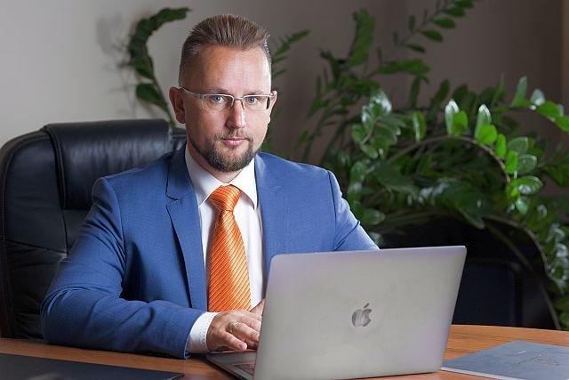 Cyprian Chałupczak. współzałożyciel spółki Koneser Group