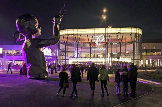 Otwarcie galerii handlowej Posnania (99 000 m kw.)