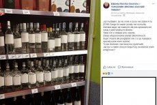 Właściciel sklepu najprawdopodobniej zbyt gorliwie potraktował nowe przepsisy