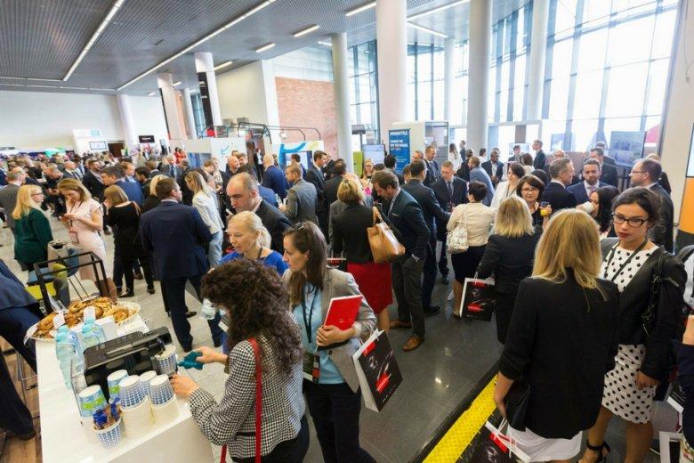 Na konkurs i konferencję ABSL do Łodzi zjechały tysiące osób zainteresowanych kooperacją między dużymi firmami a młodymi przedsiębiorcami