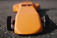 Wyścigówka powstała dzięki drukowi 3D rozpędza się nawet do 160 km/h.