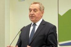 Minister środowiska Henryk Kowalczyk chce skupować śmieci