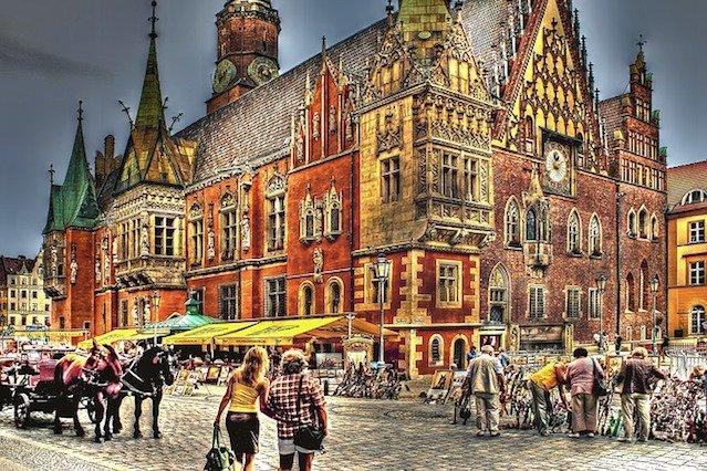 Wrocław został najatrakcyjniejszym miejsce do przeprowadzki za pracą.