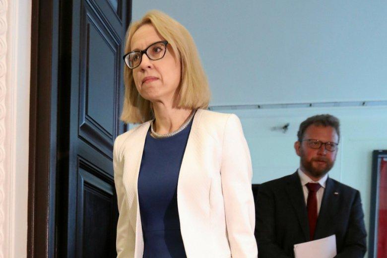 Minister finansów Teresa Czerwińska. Formalnie to ona postawiła weto wobec propozycji podwyżki płac minimalnych w 2019 r.