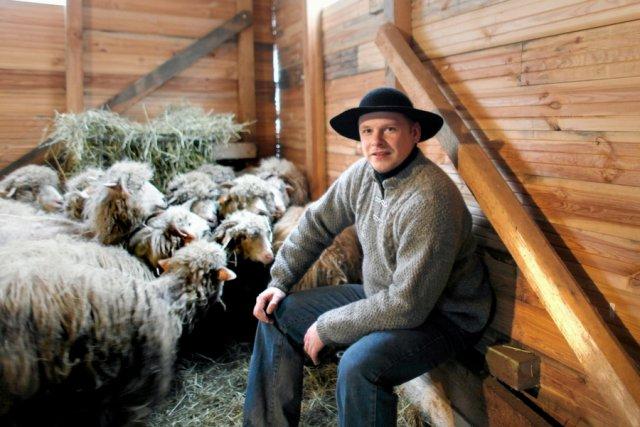 Bacxa Robert Jagus, dzięki któremu znów zaczęto wypasać owce w okolicach Szczyrku.