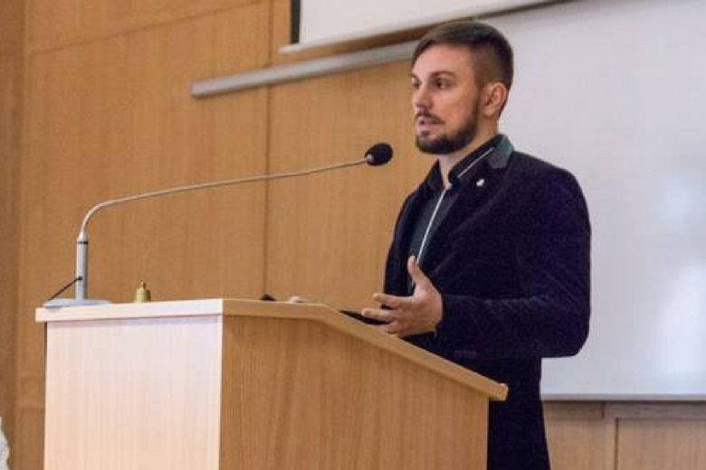 Filip Pawczyński, prezes Polskiego Stowarzyszenia Bitcoin.