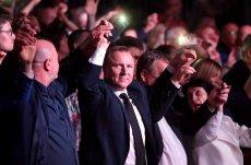 """TVP stworzyła własny serial satyryczny o Polakach. W """"La La Poland"""" wystąpią między innymi aktorzy znani z """"Ucha Prezesa"""". / Na zdj. prezes TVP Jacek Kurski."""