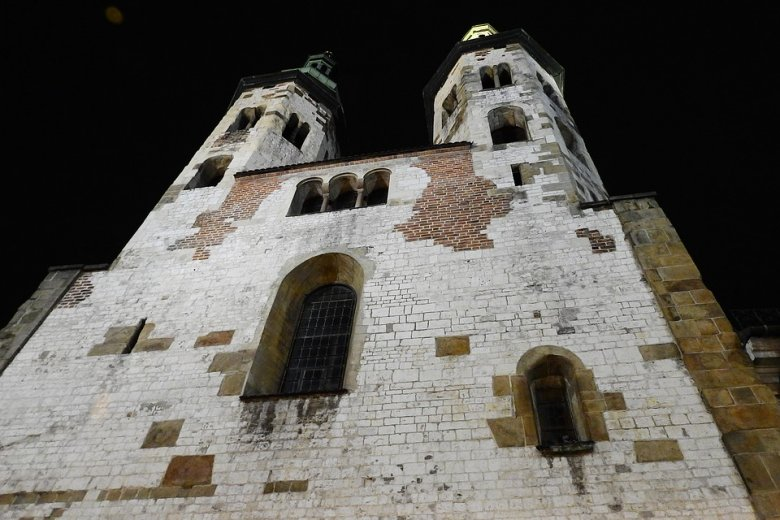 Kościół św. Andrzeja w Krakowie, w stylu romańskim