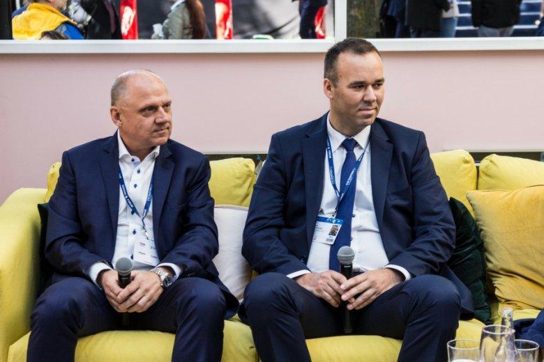 Cezary Mączka (Budimex), Daniel Świętochowski (Operator Logistyczny Paliw Płynnych)