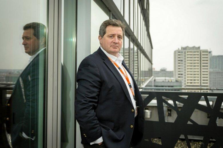 Brunon Bartkiewicz, prezes ING Bank Śląski.