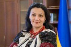 Iwanna Kłympusz-Cyncadze, wicepremier Ukrainy ds. integracji z UE i NATO.